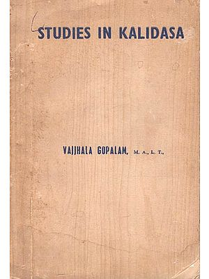 Studies in Kalidasa (Old and Rare Book)