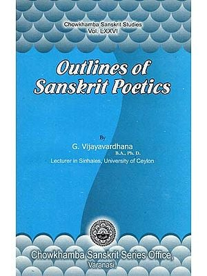 Outlines of Sanskrit Poetics