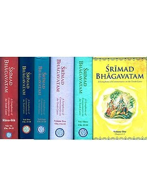 Srimad Bhagavatam- A Symphony of Commentaries on the Tenth Canto (Set of 6 Volumes)