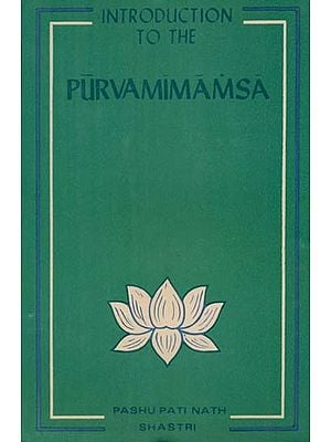 Introduction to the Purva Mimamsa (An Old Book)