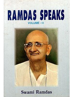 Ramdas Speaks (Volume - 2)