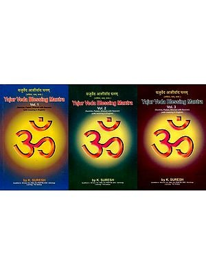 Yajur Veda Blessing Mantra (Set of 3 Volumes)
