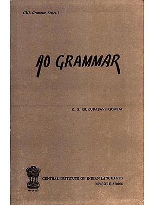 Ao Grammar (An Old and Rare Book)