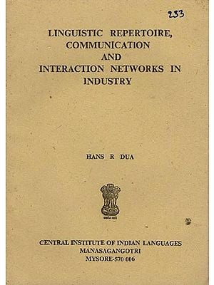 Linguistic Repertoire, Communication and Interaction Networks in Industry (An Old and Rare Book)