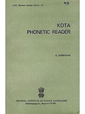 Kota Phonetic Reader