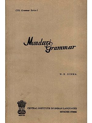 Mundari Grammar (An Old and Rare Book)
