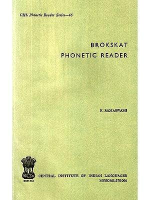 Brokskat Phonetic Reader (An Old and Rare Book)