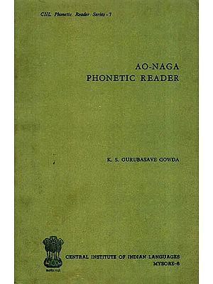 Ao-Naga Phonetic Reader (An Old and Rare Book)