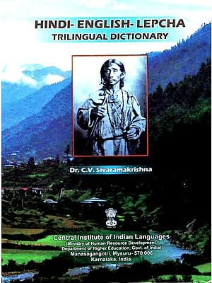 Hindi-English-Lepcha Trilingual Dictionary