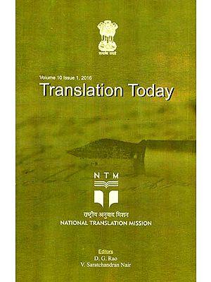 Translation Today: Volume 10 (Issue 1)