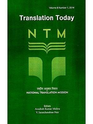 Translation Today: Volume 8 (Issue 1)