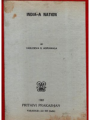India- A Nation (An Old and Rare Book)