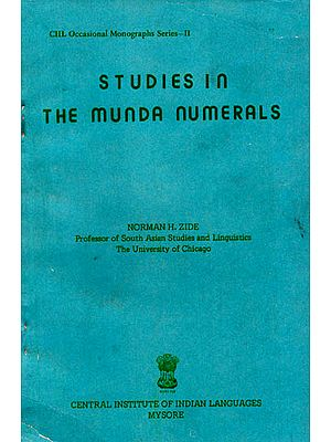 Studies in the Munda Numerals (An Old and Rare Book)