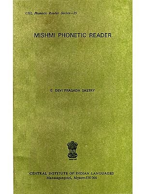 Mishmi Phonetic Reader (An Old and Rare Book)