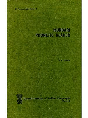 Mundari Phonetic Reader (An Old and Rare Book)