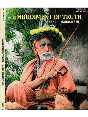 Embodiment of Truth- Kanchi Mahaswami (Set of Two Volumes in Tamil)