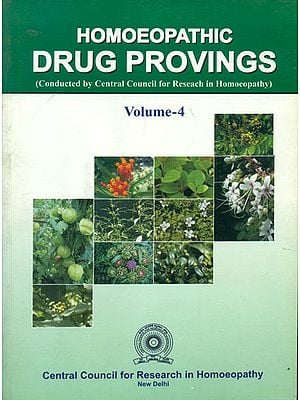 Homoeopathic Drug Provings (Vol-4)