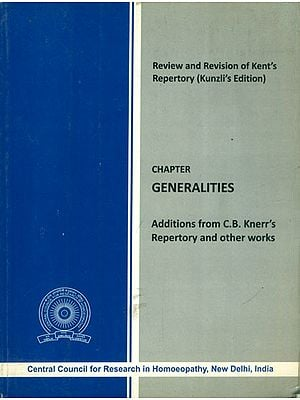 Generalities- Additions from C.B. Knerr's Repertory and Other Works