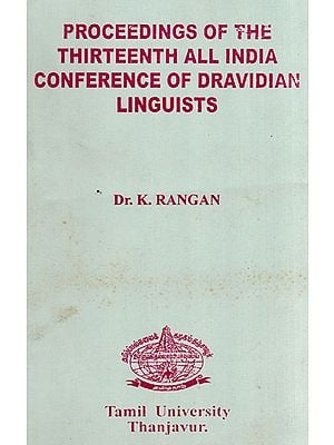 Proceedings of The Thirteenth All India Conference of Dravidian Linguista