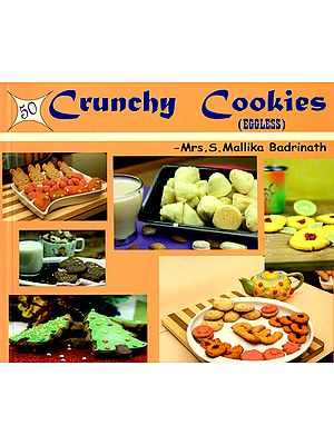 50 Crunchy Cookies (Eggless)