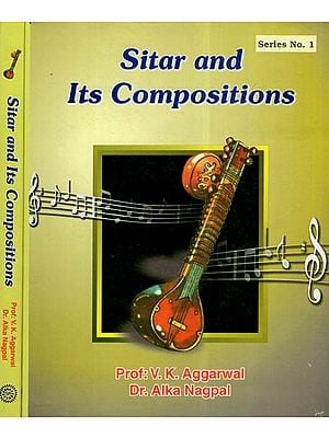 Sitar and Its Compositions (Set Of 2 Volumes)