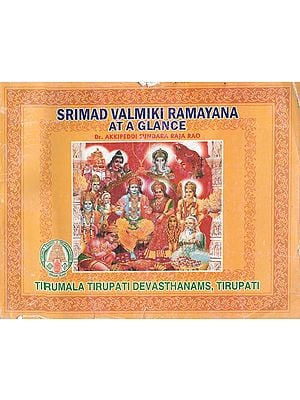 Srimad Valmiki Ramayana At A Glance (An Old Book)