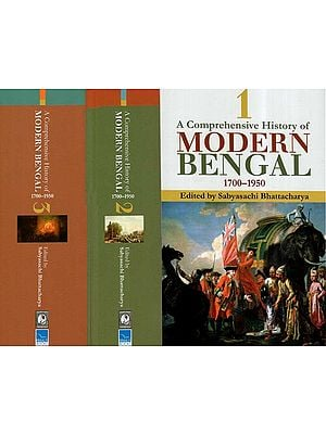 A Comprehensive History Of Modern Bengal, 1700–1950 (Set Of 3 Volumes)