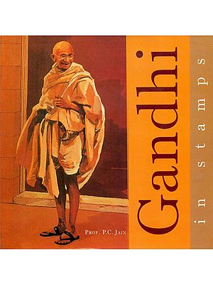 Gandhi in Stamps - The Courier of Truth and Non-Violence