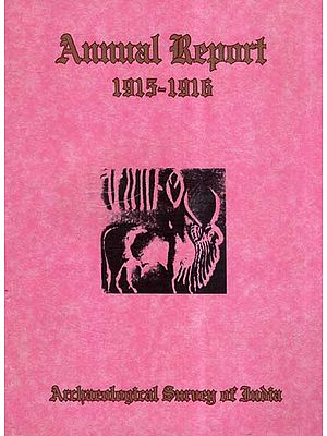 Annual Report of Archaeological Survey of India (1915-16)
