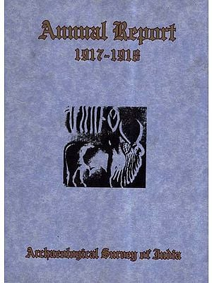 Annual Report of Archaeological Survey of India (1917-1918)