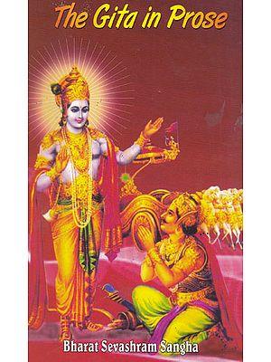The Gita in Prose
