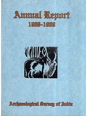 Annual Report of Archaeological Survey of India (1908-1909)
