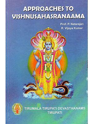 Approaches To Vishnusahsranaama