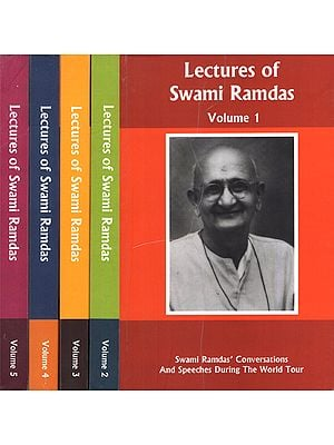 Lectures of Swami Ramdas- Swami Ramdas Conversations and Speeches During the World Tour (Set of 5 Volumes)