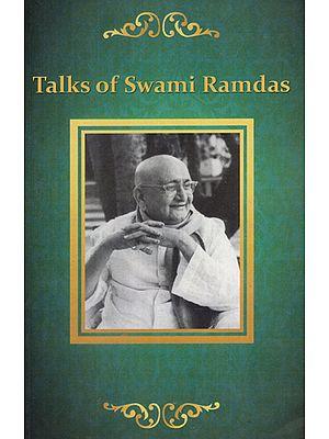 Talks of Swami Ramdas