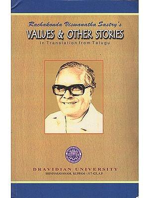 Rachakonda Viswanatha Sastry's Value & Other Stories (In Translation from Telugu)