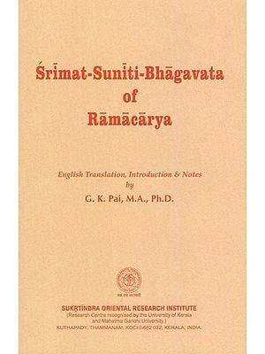 Srimat Suniti Bhagavata of Ramacarya