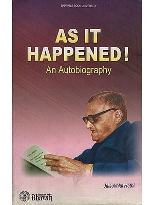 As It Happeed!- An Autobiography (An Old and Rare Book)