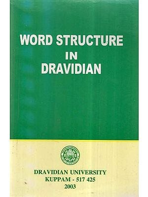 Word Structure In Dravidian