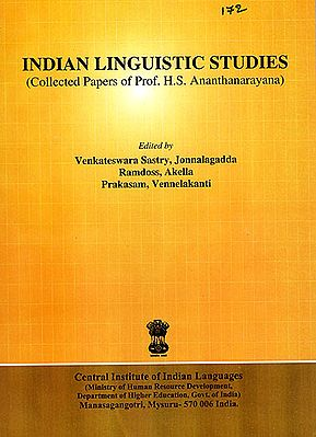Indian Linguistic Studies