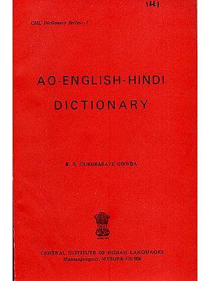 AO-English-Hindi Dictionary