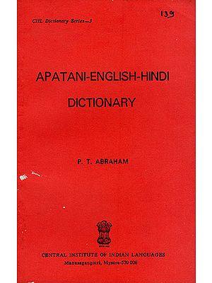 Apatani-English-Hindi Dictionary