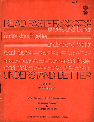Read Faster Understand Better : Vol-2 (An Old and Rare Book)