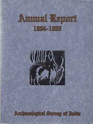 Annual Report - 1904-1905