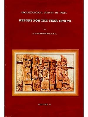 Archaeological Survey of India Report For The Year 1872-73 (Vol-V and An Old and Rare Book)
