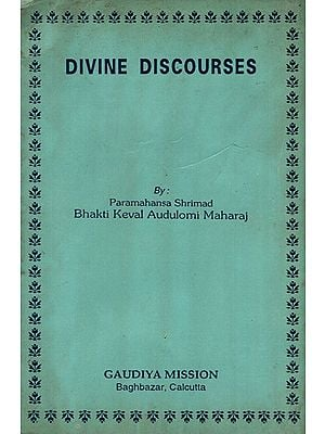 Divine Discourses (An Old and Rare Book)