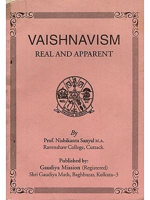 Vaishnavism- Real and Apparent (An Old and Rare Book)
