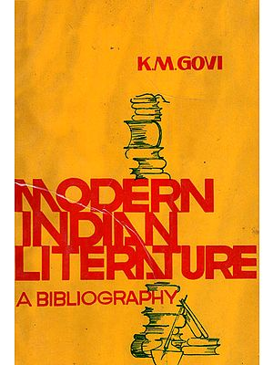 Modern Indian Literature: A Bibliography (An Old and Rare Book)