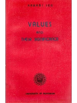 Values and Their Significance (An old and Rare Book)