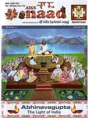 Naad Magazine Special Issue of Abhinavagupta